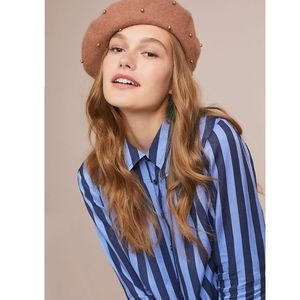 Anthro Maeve Lustered Button Down